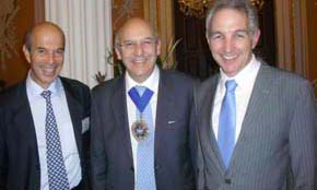 Dr Ian Goldin, The Lord Mayor, Dr Max Price